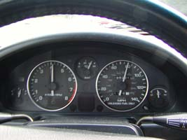 Speedometer on the Little Red Rocket