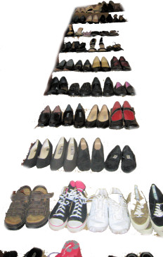 Kim McNelis Shoe Collection, Stair #1