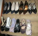 Kim McNelis Shoe Collection, Stair #10 & 11