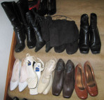 Kim McNelis Shoe Collection, Stair #12 & 13