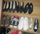 Kim McNelis Shoe Collection, Stair #4 & 5