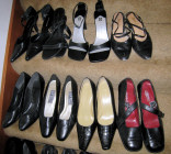 Kim McNelis Shoe Collection, Stair #8 & 9